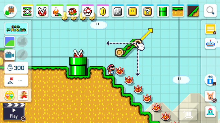 Super Mario Maker review2 builder
