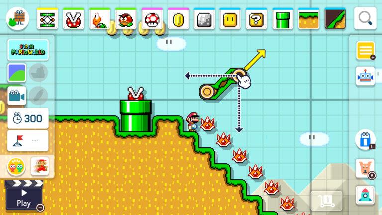 Super Mario Maker review2 builder