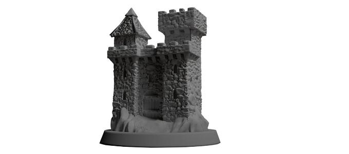 Crusader kings review castle
