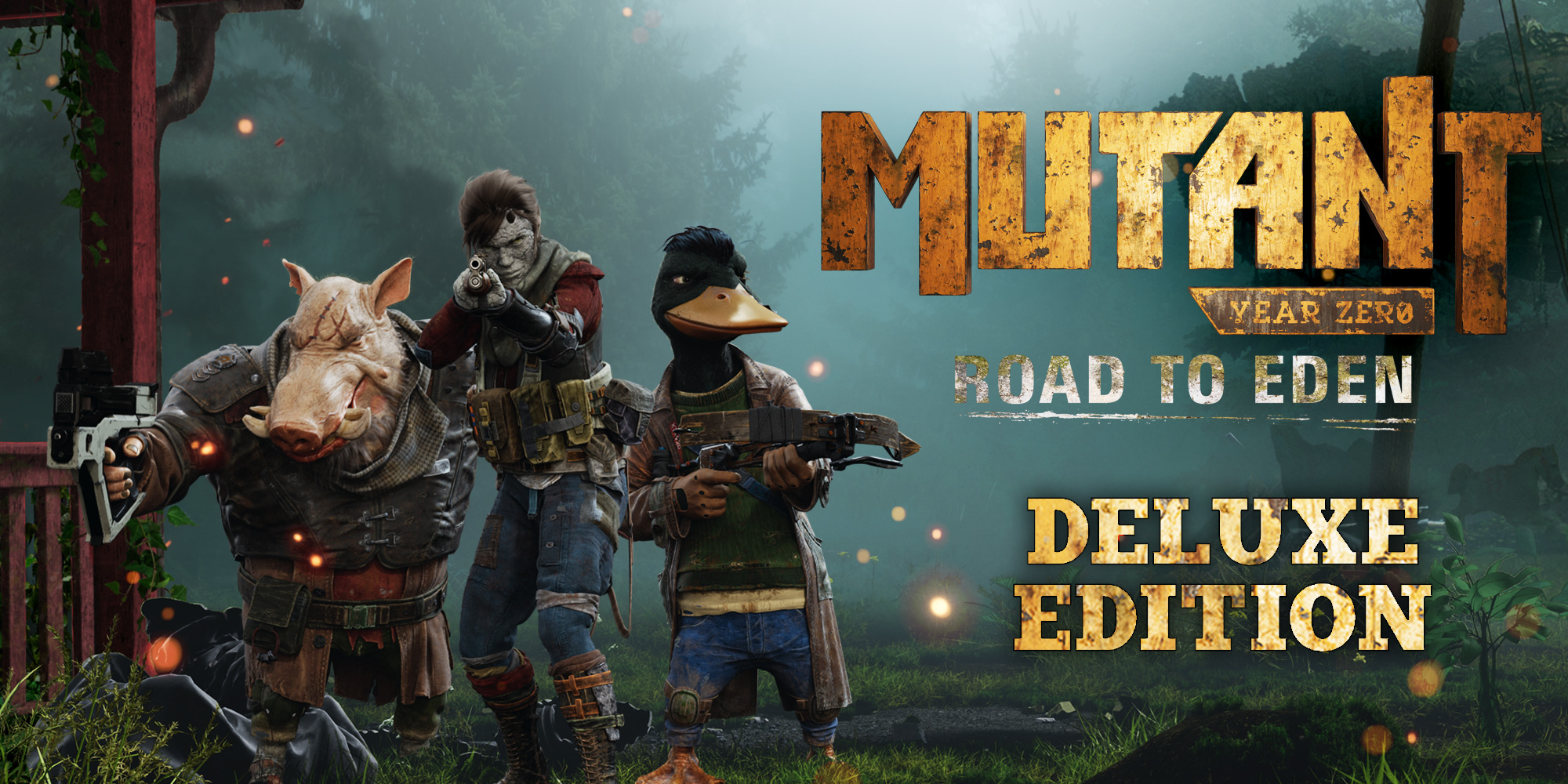 Read more about the article Mutant Year Zero Road to Eden Deluxe Edition Review [Switch]
