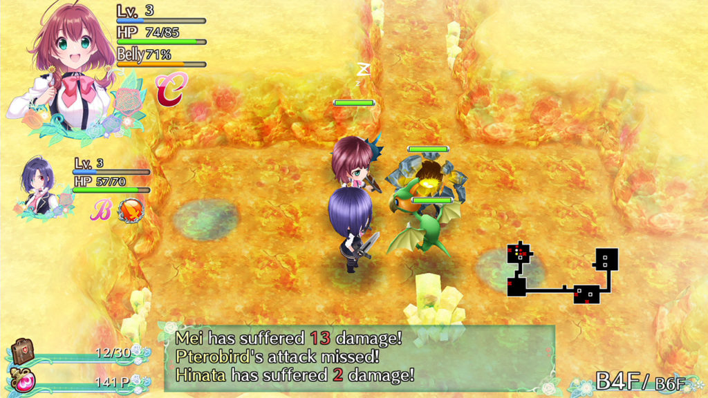 Omega Labyrinth Life review dungeon