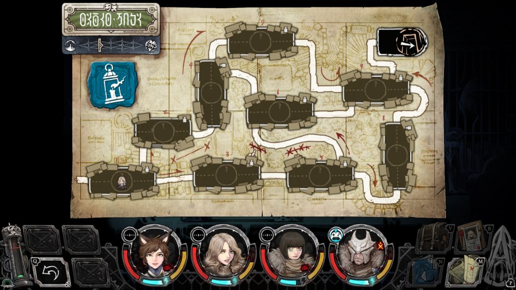 Vambrace Cold Soul review map