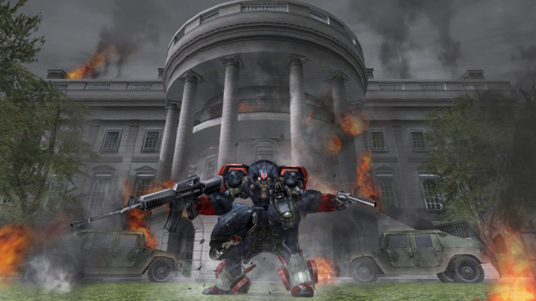 metal wold choas DX white house