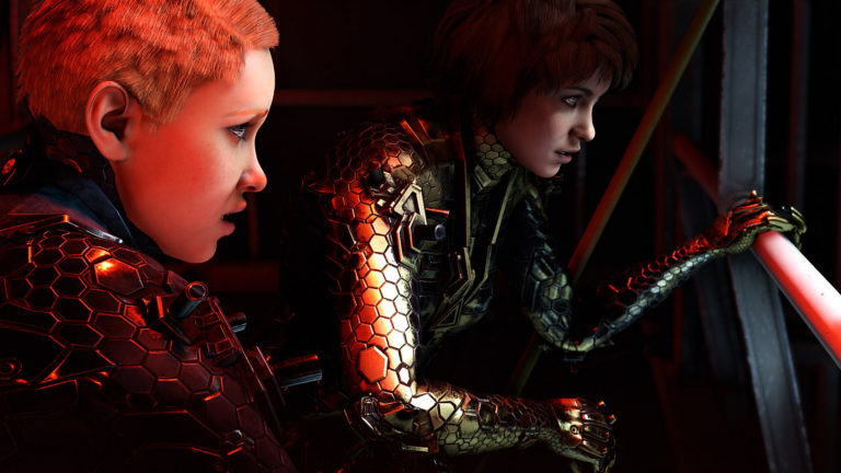 wolfenstein youngblood review sisters