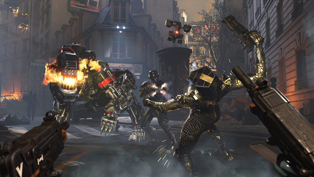 wolfenstein youngblood review robot