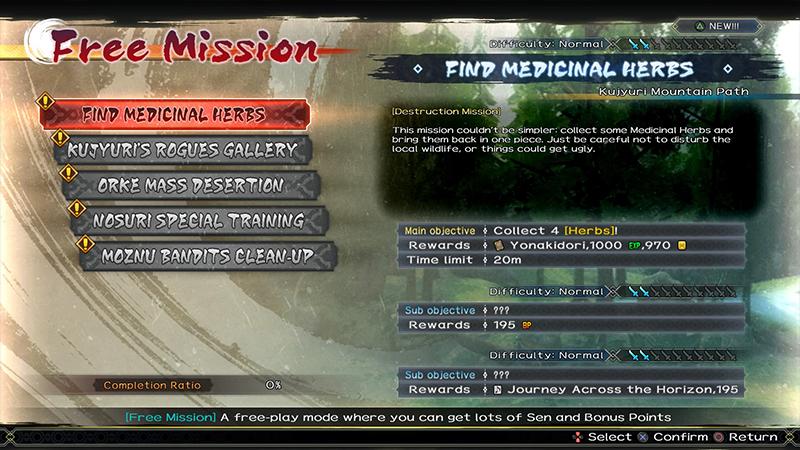 Utawarerumono Zan review mission