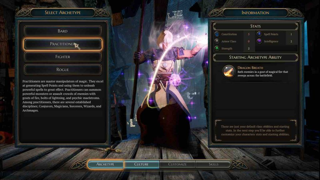 The bards tale IV character maker
