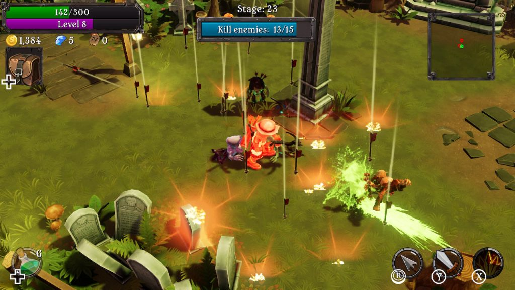 two rush reviews three grave keeper