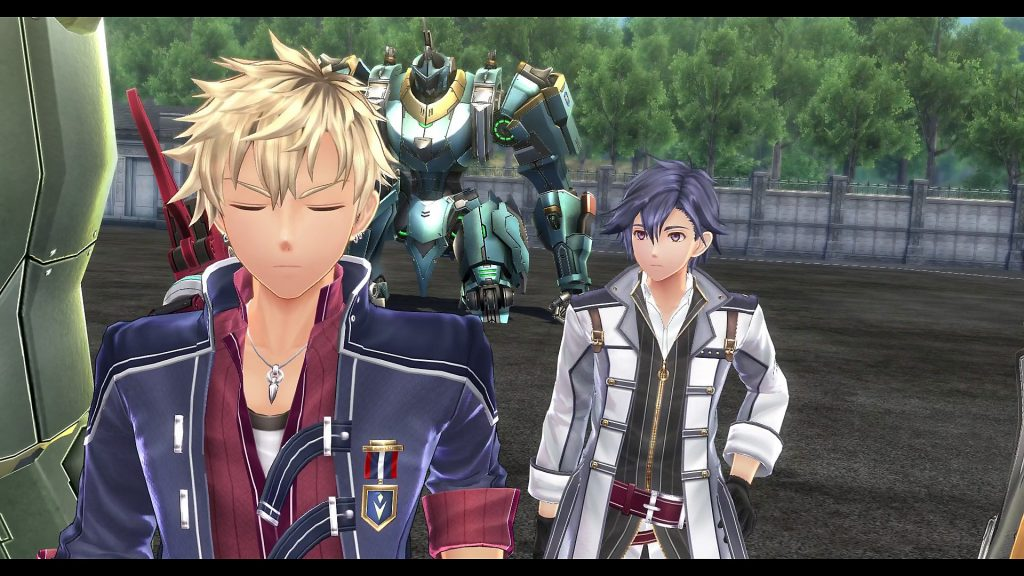 Trails of Cold Steel III cutscene