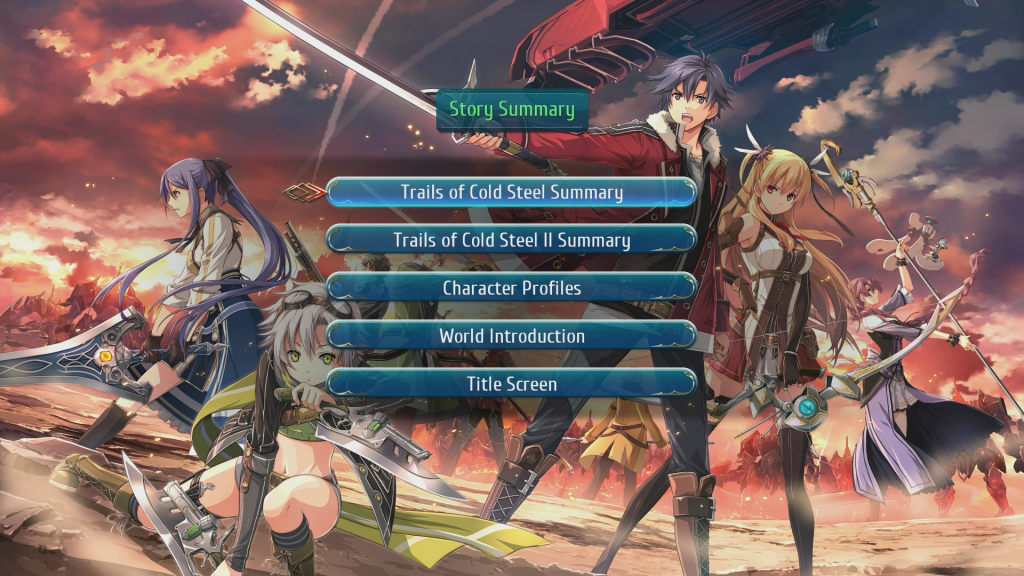 Trails of Cold Steel III summary