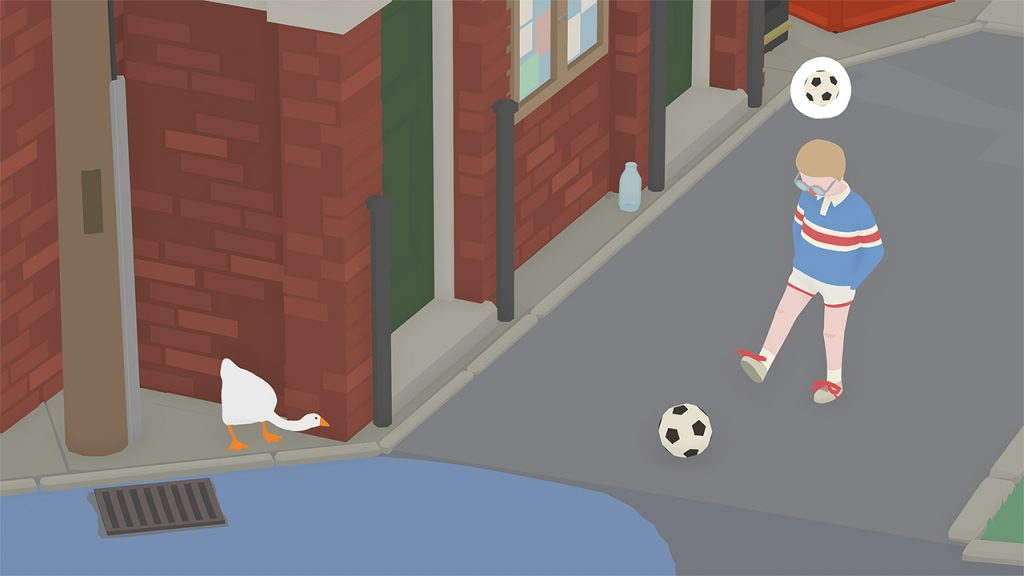 Untitled Goose Game football