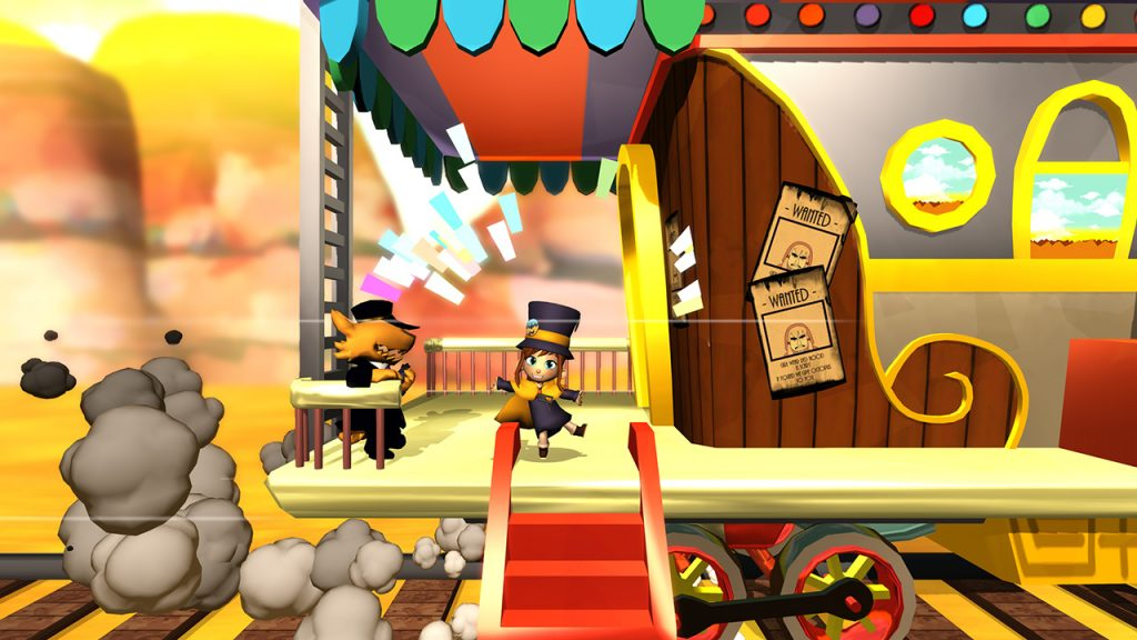A hat in time train
