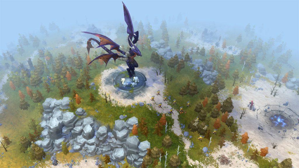 Northgard dragon