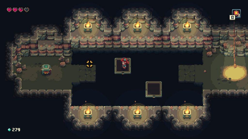 Sparklite dungeon