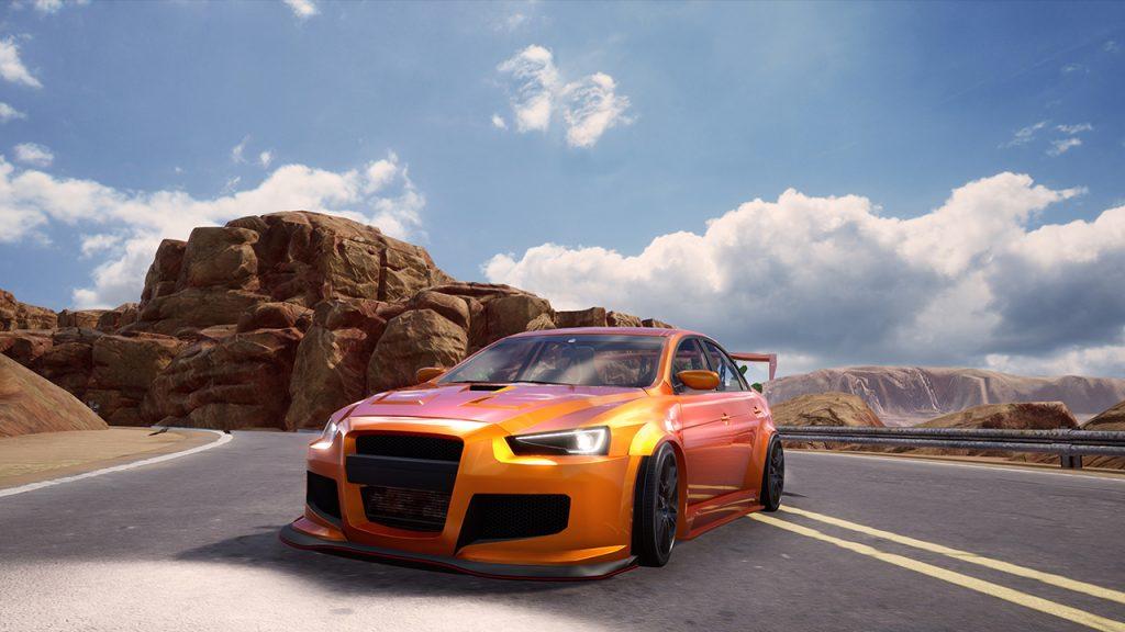 Super Street Racer car