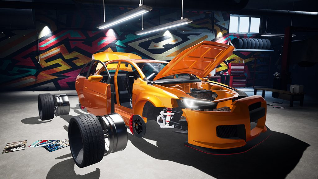 Super Street Racer customise