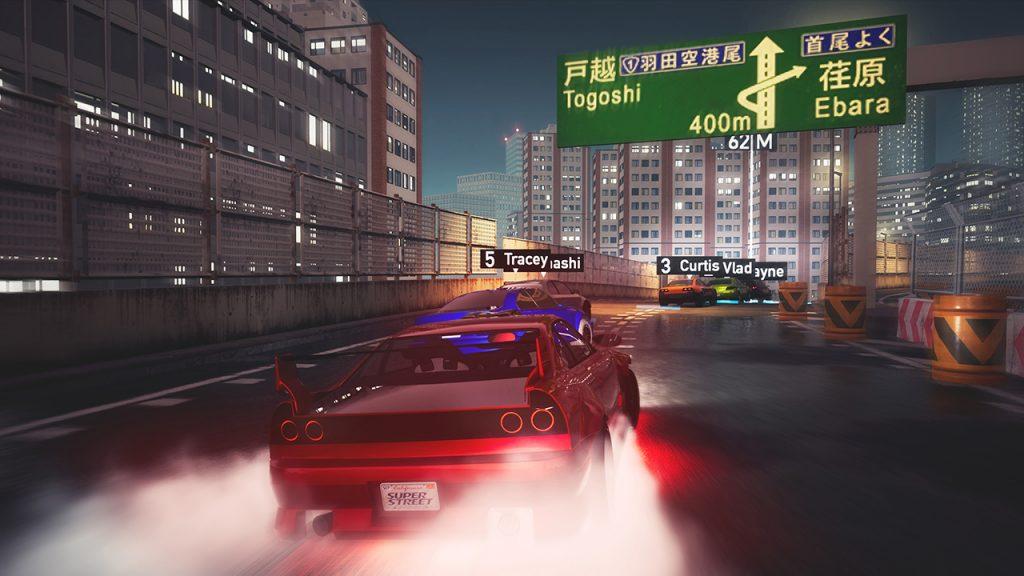 Super Street Racer race