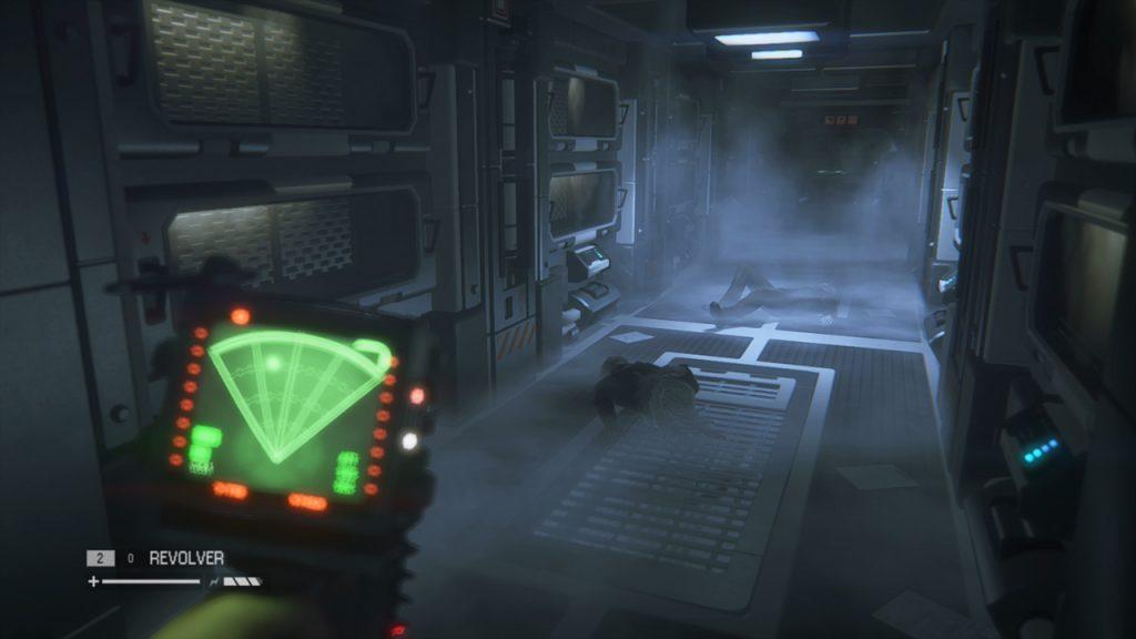 alien Isolation motion decetor