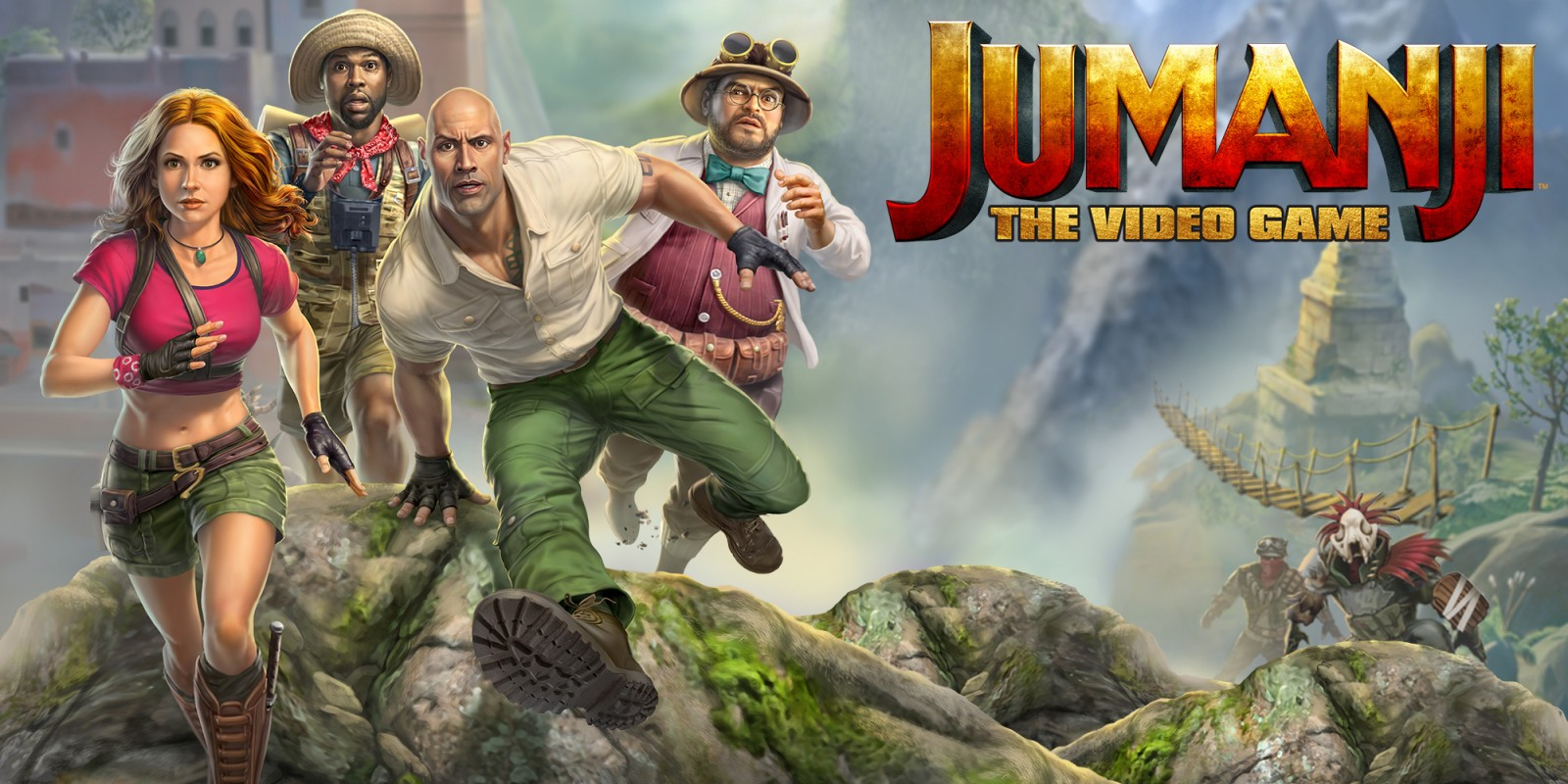 Read more about the article Jumanji The Video Game Review [PS4]