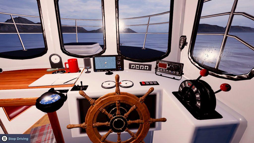 Fishing Barents Sea helm