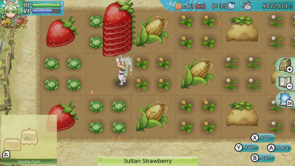 Rune factory 4 farming