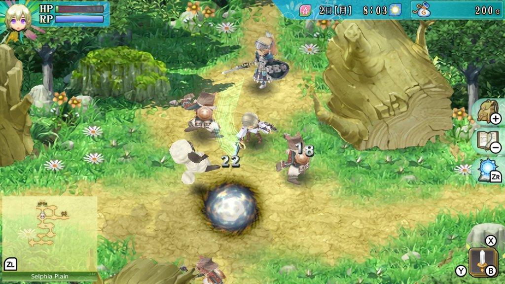 Rune factory 4 fight