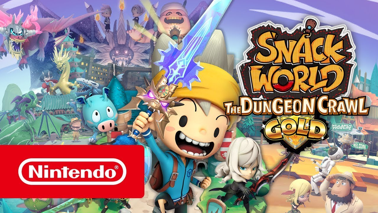 Read more about the article Snack World The Dungeon Crawl Gold Review [Switch]