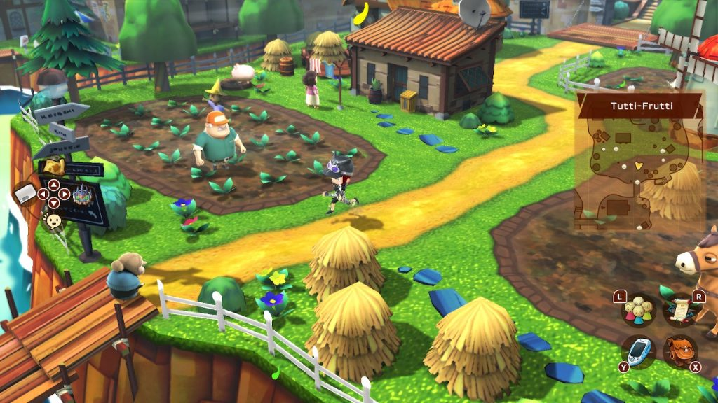 Snack World town