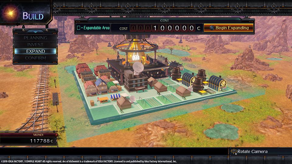 arc of alchemist town