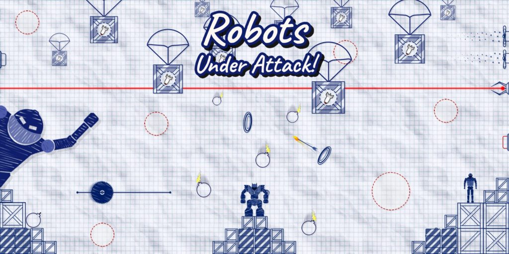 robots under attack feature