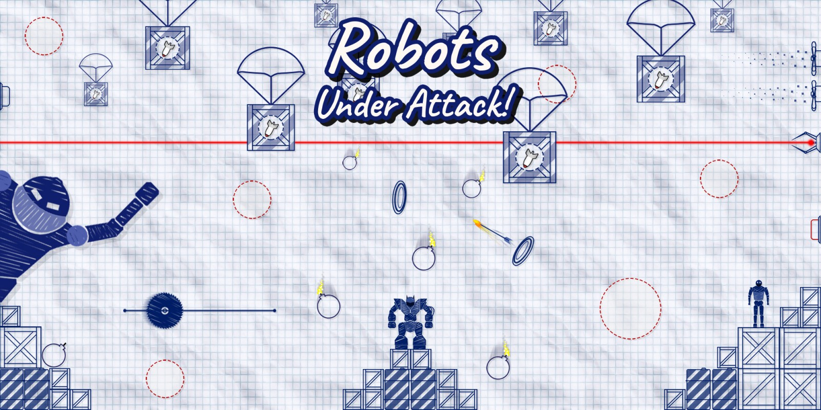 Read more about the article Robots Under Attack Review [Switch]