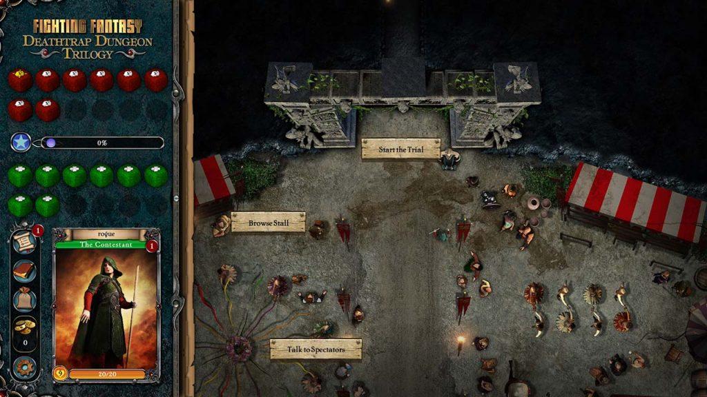 Deathtrap Dungeon town