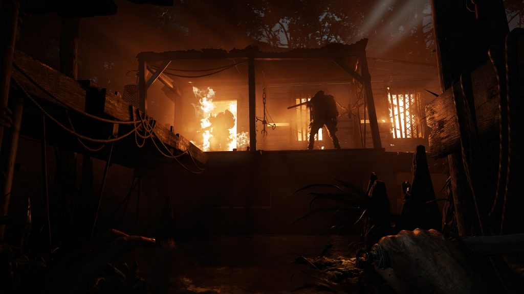 Hunt Showdown fire