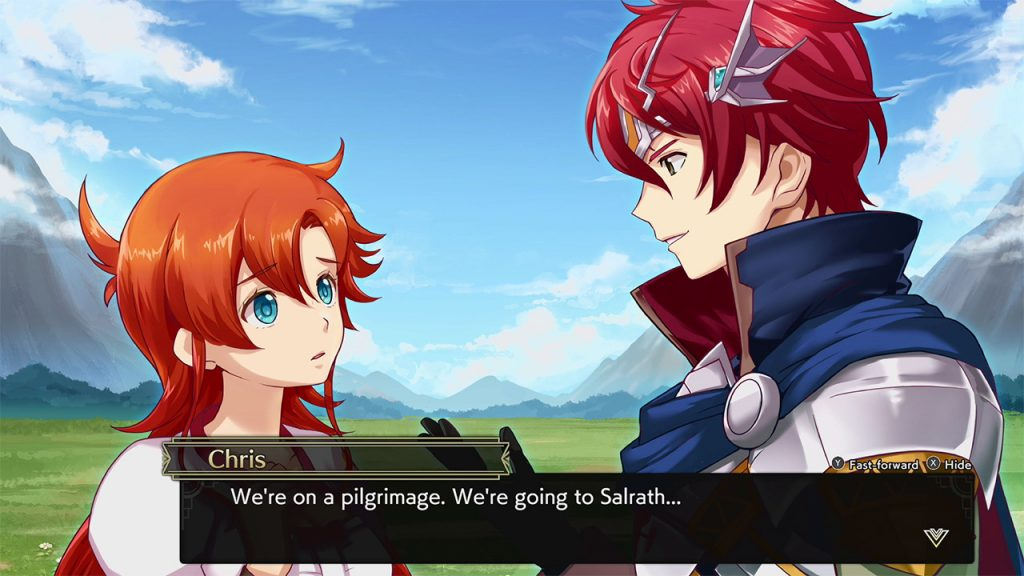 Langrisser 1 & 2 Visual Novel