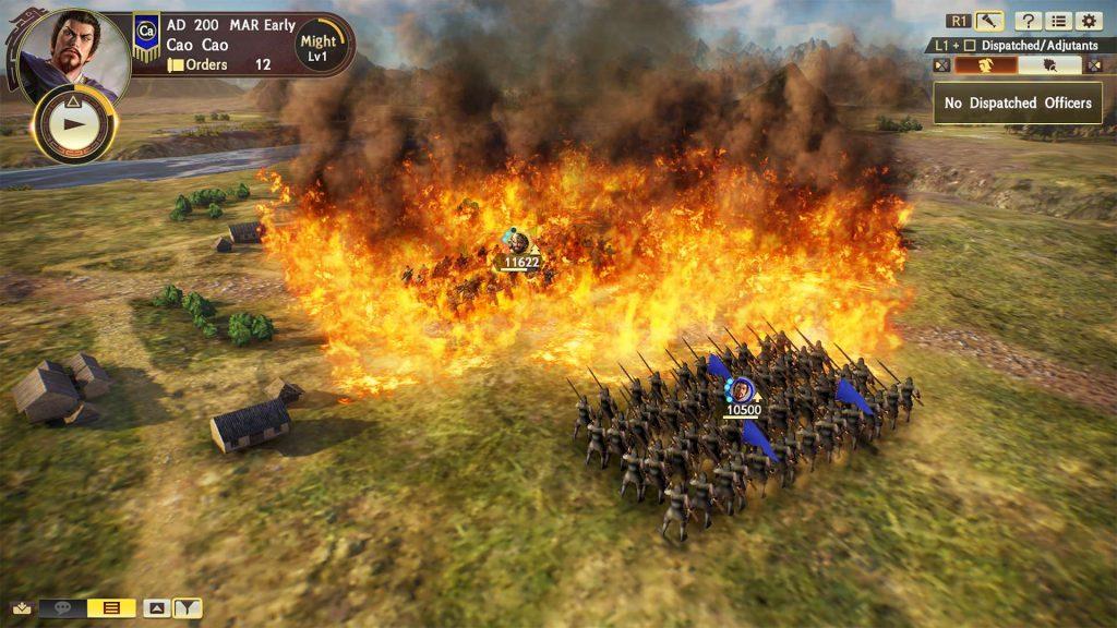 Romance of the Three Kingdoms XIV battle