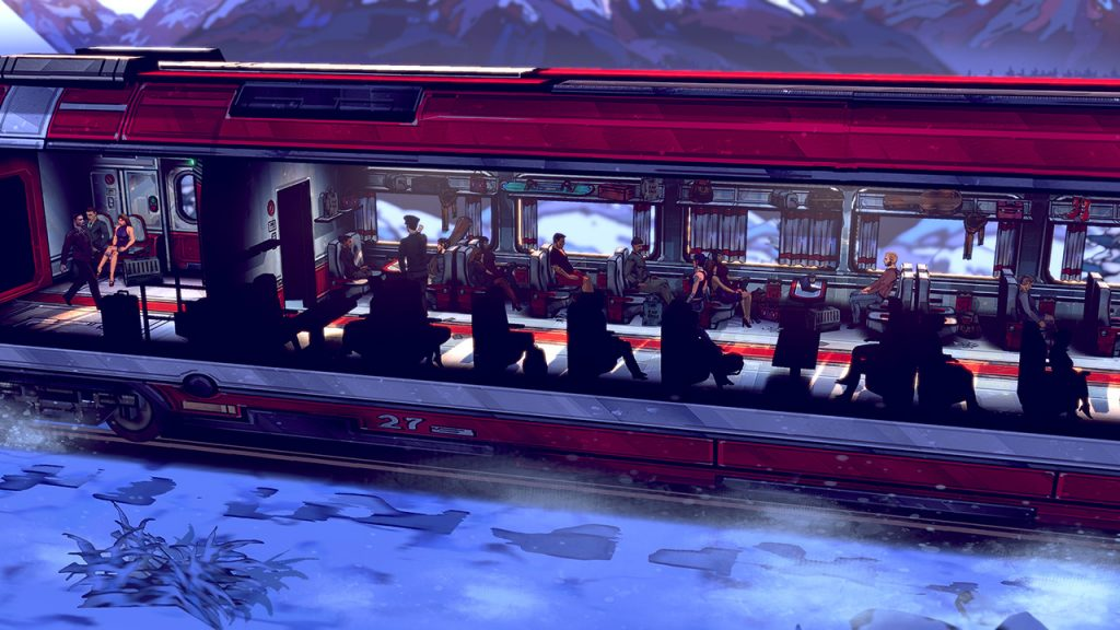 Thief of Thieves train