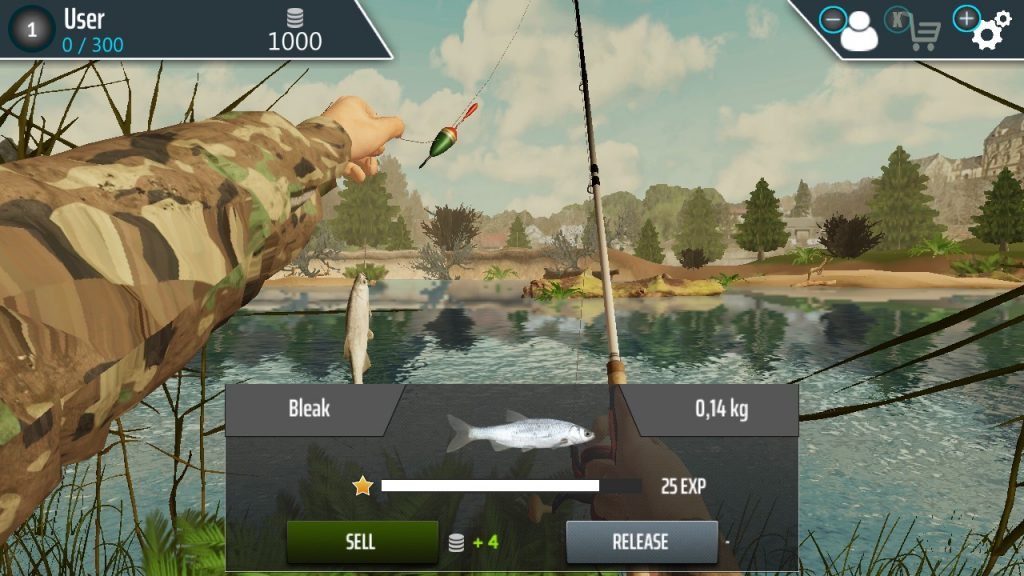 fishing adventure capture