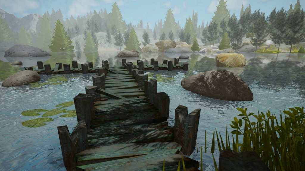 fishing adventure dock