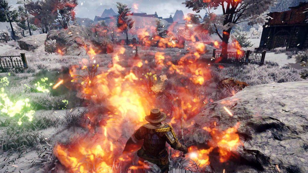outward fire