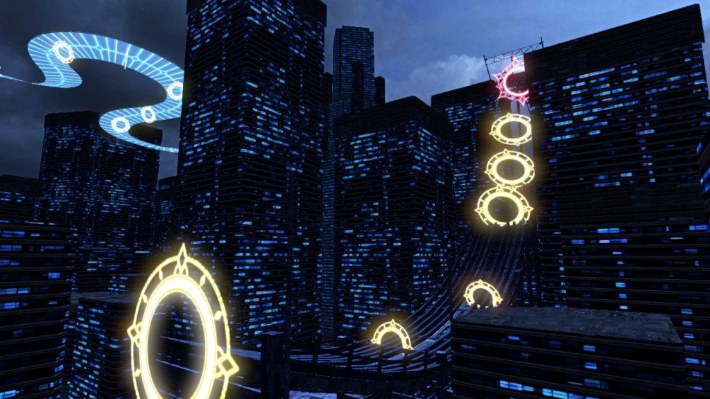 Gensou SkyDrift city