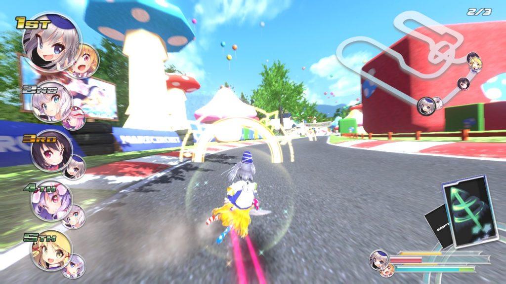 Gensou SkyDrift power up