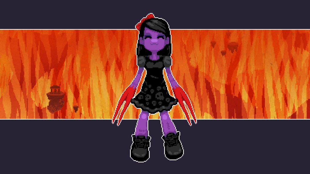They Bleed Pixels girl