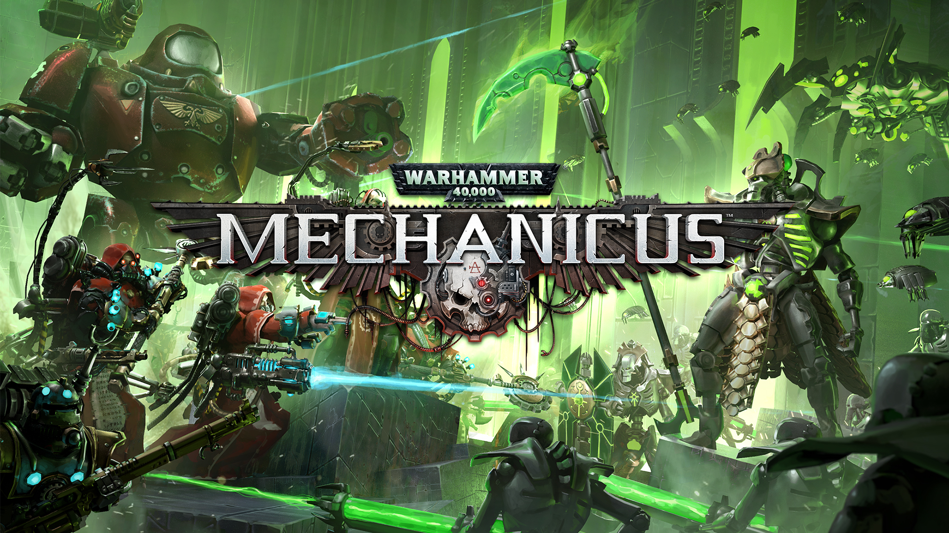 Read more about the article Warhammer 40K Mechanicus