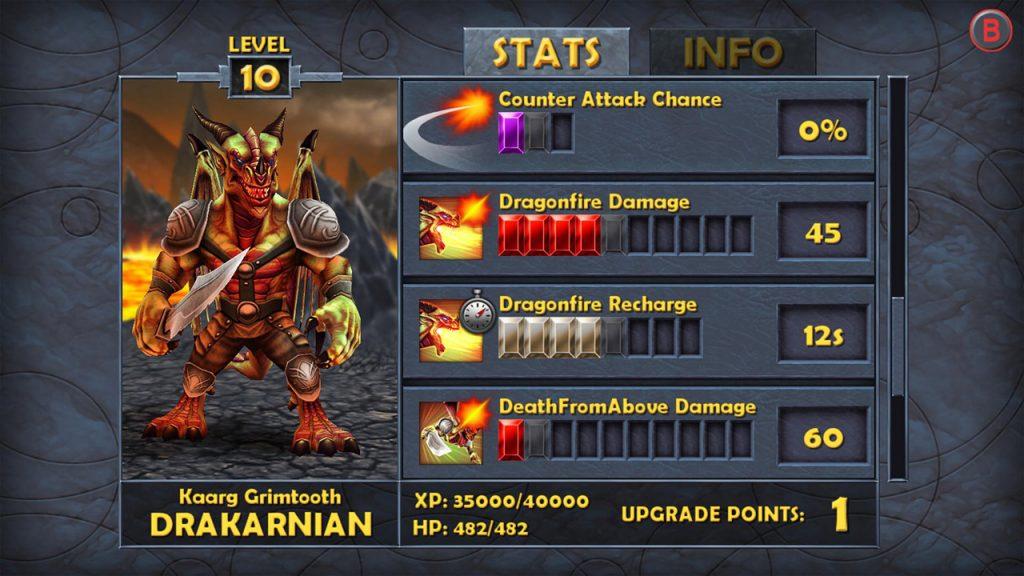 battle-hunters-level up