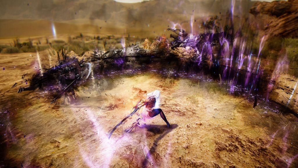 black desert online fight