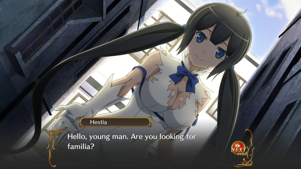 s It Wrong to Try to Pick Up Girls in a Dungeon Hestia