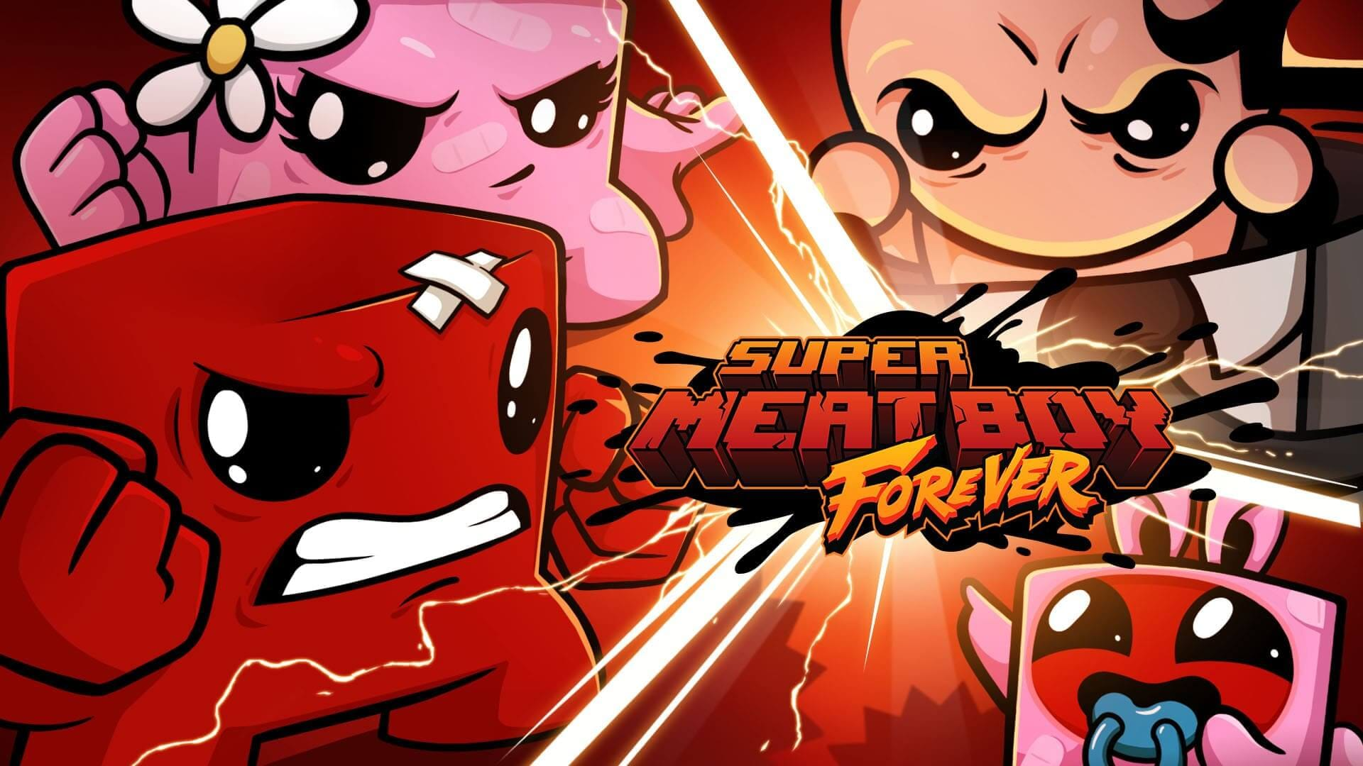Read more about the article Super Meat Boy Forever