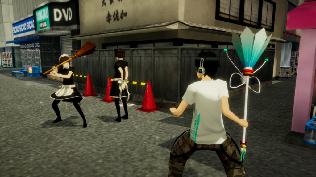 Akiba's-Trip-gameplay