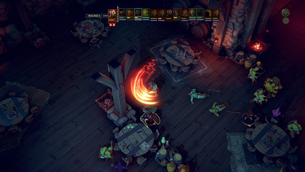 The-Dungeon-of-Naheulbeuk-gameplay