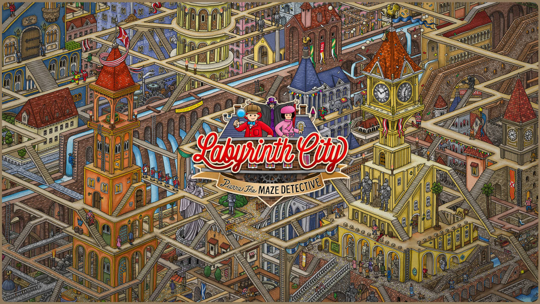 Read more about the article Labyrinth City: Pierre the Maze Detective